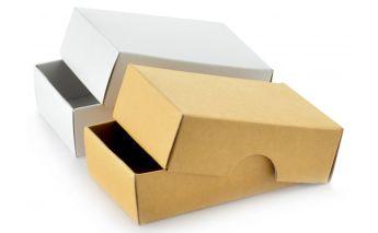 Divdaļīga dāvanu kastīte no kartona
