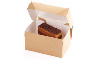 Eco-friendly paper box ECO CAKE for confectionery