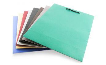 Подарочные мешочки матовые из цветного картона