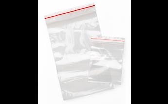 Caurspīdīgs maisiņi MiniGrip no polietilēna