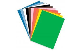 Augstas kvalitātes krāsains Creative kartons lapās