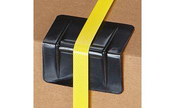 Plastic protective corners for edges