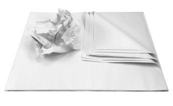 Белая бумага, в листах. Для упаковки и защиты продукта.