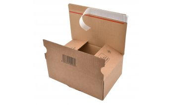 Коробка  с клеевым клапаном