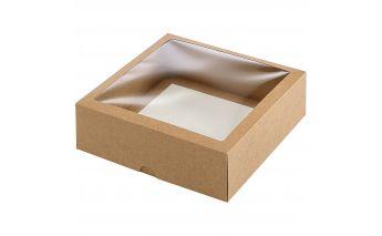 Divdaļīga kastīte izgatavotas no kartona