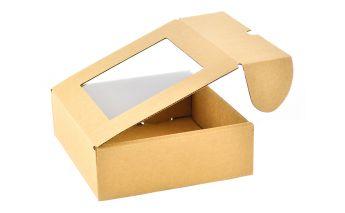 Коробка подарочная из микрогофры