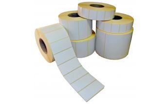 Thermal ECO etiķetes rulonā, sagataves printeriem