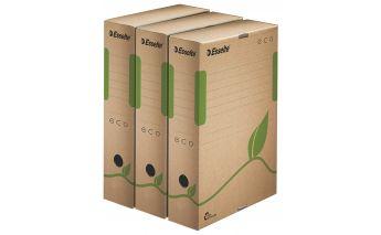 Arhīva kaste Esselte A4 izgatavota no pārstrādāta kartona