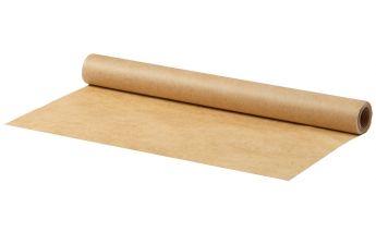 Brūns cepampapīrs no abām pusēm apklāts ar silikonu