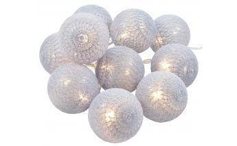 Kokvilnas LED virtene