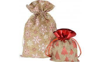 Auduma dāvanu maisiņi