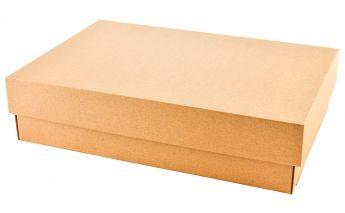 Divdaļīga dāvanu kastīte no mikrogofra