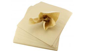 Brūns zīda rakstāmpapīrs