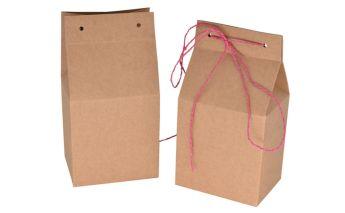 Vertical gift box