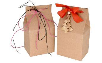 Vertikāla dāvanu kastīte