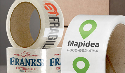 Adhesive tape with print 1